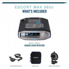 Detector Radar Escort MAX360c INTL