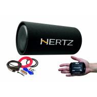 Pachet Subwoofer auto Hertz DST 30.3B + Amplificator Stetsom IR 280.1 + kit de cabluri complet Subwoofere Auto