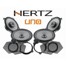 Pachet difuzoare auto Hertz Uno dedicat Nissan Micra (2003 - 2020) Rame adaptoare