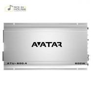 Amplificator auto Avatar ATU 600.4, 4 canale, 600W Amplificatoare auto