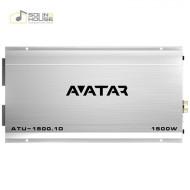 Amplificator auto Avatar ATU 1500.1D, 1 canal, 1500W Amplificatoare auto