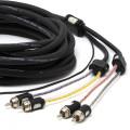 Cablu RCA Multicanal Connection,BT4 550 4 canale, 550cm