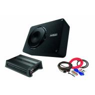 Pachet Subwoofer Audison APBX 8R + Amplificator Hertz D POWER 1 + Kit de cabluri complet Subwoofere Auto