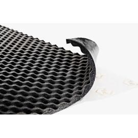 Insonorizant Premium auto STP Biplast 15 Wave, 15mm, 1000X750 mm - Foaie