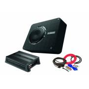 Pachet Subwoofer AUDISON APBX 8 DS + Amplificator Hertz D POWER 1 + kit de cabluri complet