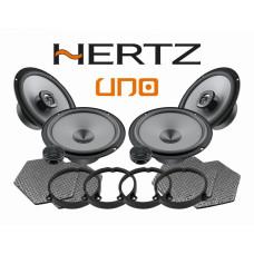 Pachet difuzoare auto Hertz Uno dedicat Kia Rio (2011 - 2020) Rame adaptoare
