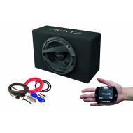Pachet Subwoofer auto Hertz DBX 25.3 + Amplificator Stetsom IR 280.1 + Kit de cabluri complet Subwoofere Auto