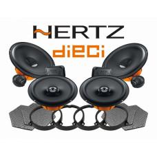 Pachet difuzoare auto Hertz Dieci dedicat Kia Rio (2011 - 2020) Rame adaptoare