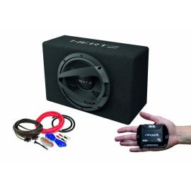 Pachet subwoofer auto Hertz DBX 30.3 + Amplificator Stetsom IR 280.1 + kit de cabluri complet Subwoofere Auto