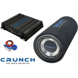 Pachet subwoofer Crunch Junior Tube Pack 200 Subwoofere Auto